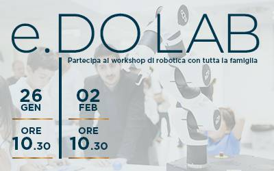 e.DO LAB – workshop di robotica in inglese